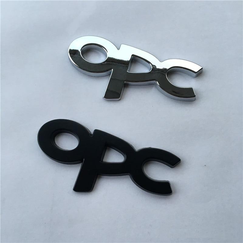 3D Metal OPC Sticker Emblem Badge Decal For OPEL Mokka Corsa Meriva Zafira Astra J H G Vectra Antara Insignia