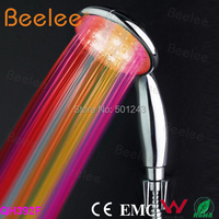 RGB 7 Color Changing LED Light Shower Head Sprinkler Automatic Control Bathroom Shower Head Water Saving
