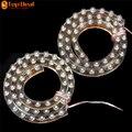 Venta 50 cm 12 V LED Coche Universal Luz Corriente Diurna Impermeable Tira Flexible LED Blanco DRL Faros de Niebla de la Cola Parada del Freno lámpara