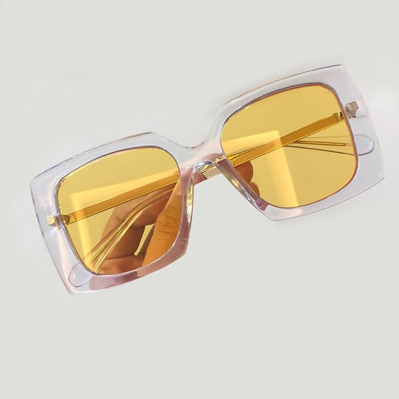 Marke 4 Objektiv Quadrat Verpackung no Qualität Feminino no Sol Designer 2 De Mode No Gradienten no 3 Frauen 2019 Hohe Sonnenbrille 1 Luxus Oculos Mit 6SE0q6w