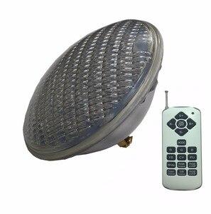 Image 1 - Lampe led de piscine par56 RGBW, ampoule led, lumière blanche chaude, froide, 24/36/48/60/72W, 12V