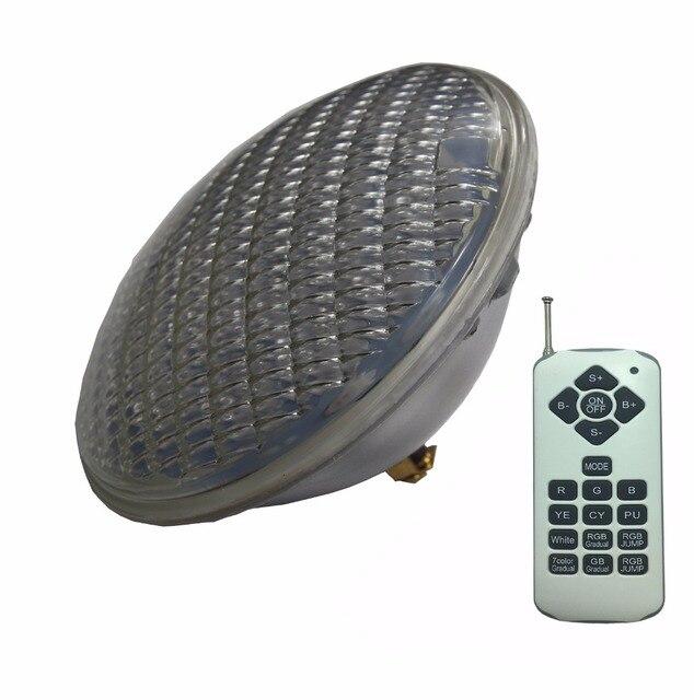 Lampe led de piscine par56 RGBW, ampoule led, lumière blanche chaude, froide, 24/36/48/60/72W, 12V