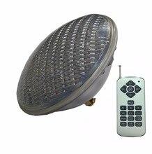 RGBW PAR 56 led בריכת אור 24W 36W 48W 60W 72W PAR 56 הנורה 12V בריכת שחייה אור חם לבן קר לבן