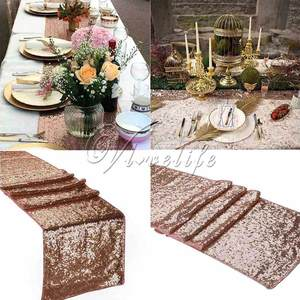 vlovelife 5PCS Sequin Party Tablecloth Decoration
