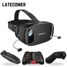 Atualizar a versão de fone de ouvido óculos de realidade virtual 3D CAIXA de caixa de caixa Do Jogo Jogo headset óculos capacetes VR VR Selecionável com Gamepad