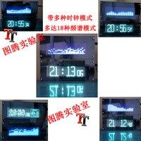 VFD Spectrum FFT Music Spectrum Display Super LED Spectrum VFD Clock Vehicle Central Control DIY