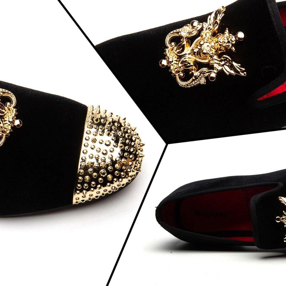 Hommes Mocassins En Cuir Hommes Occasionnels Chaussures À La Main De Mode Confortable Respirant Hommes Chaussures - 3