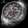 Top Brand PAGANI DESIGN Chronograph Sport Watches Men Reloj Hombre Full Stainless Steel Quartz Watch Clocks