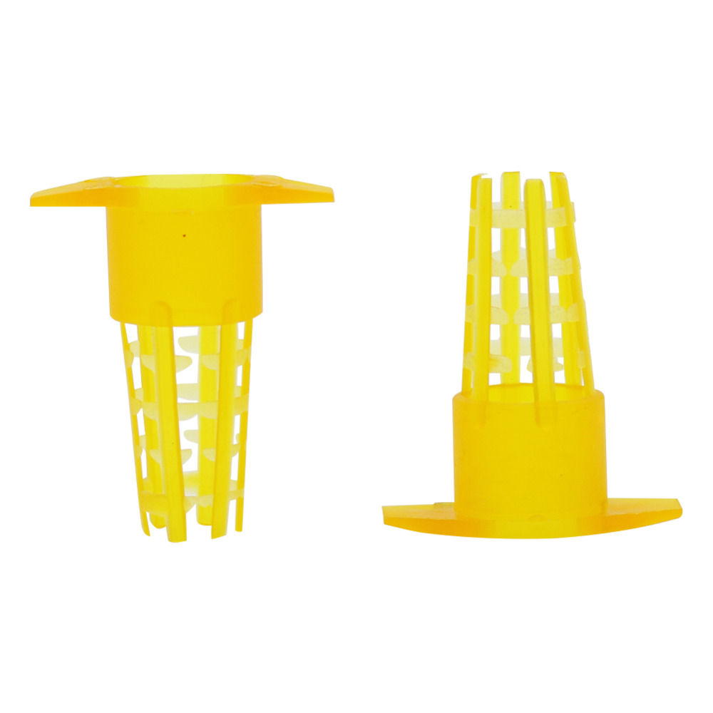 Plastic Bee Queen Cage Protective Cover Cell Protector Cages Beekeeping Queen Rearing Beekeeping Equipment 50 Pcs
