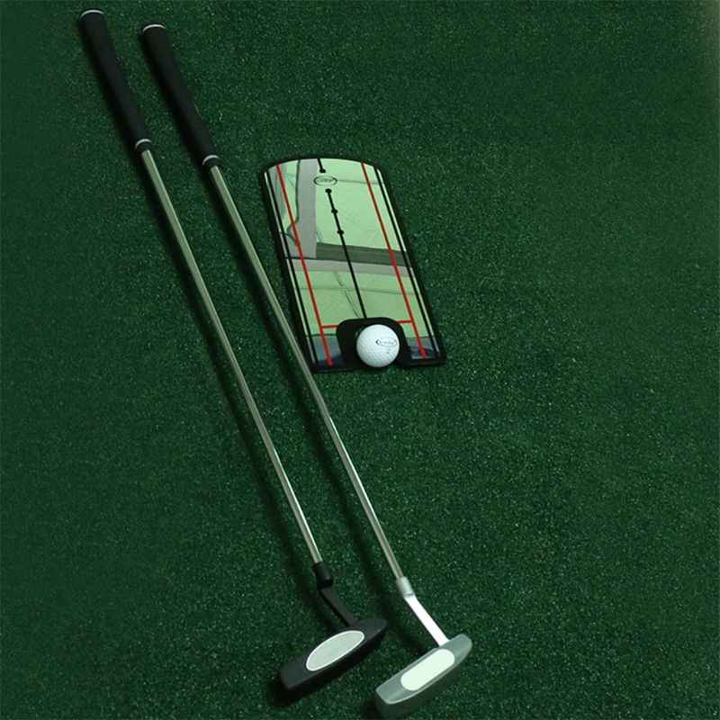 Golf Putting Mirror Training Eyeline Posture Correction Swing Practice Trainer Alignment Aid