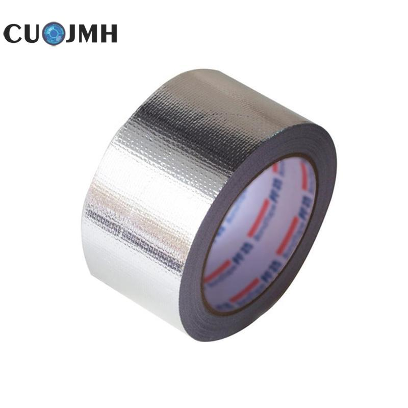 0.5*30m Fire Retardant Aluminum Foil Tape Water Heater Kitchen Ventilator Fireproofing Waterproof Ultraviolet proof Tape