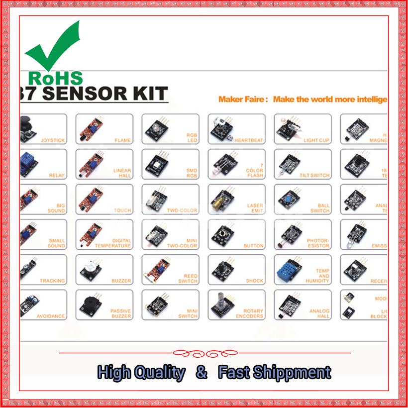 37 sensor kits are available for sale at low cost ...