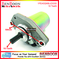Starter Motor 10 Splines for 2T Engine Minarelli 1PE40QMB JOG 50cc 80cc Chinese Scooters