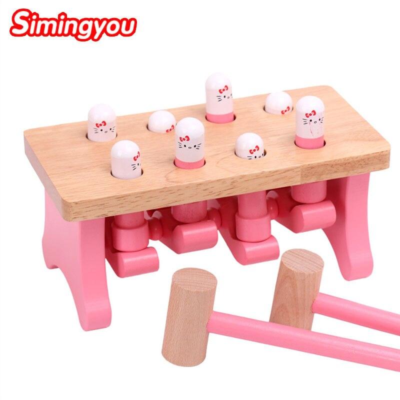 Simingyou bois-faire gassault en bois Animal jouet forme géométrique pour enfants jeu de logique C20 livraison directe