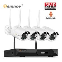 Einnov 1080P H.264+ 8CH NVR Kit Home Wireless Security Camer