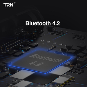 Image 5 - AK New TRN BT3S Wireless Bluetooth 4.2 APT X Cable HIFI Earphone 2Pin/MMCX For Revonext QT5 TRN X6/IM2/V80/IM1 Tin T2 Yinyoo V2