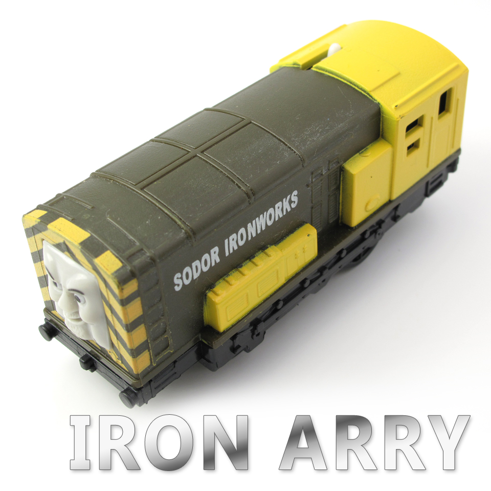 Electric Thomas Train T072E IRON ARRY Thomas And Friends Trackmaster Magnetic Tomas Truck Engine Railway Toys for Boys
