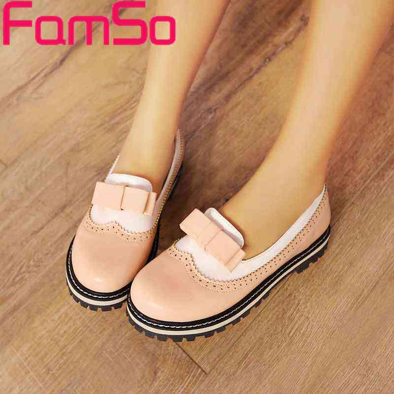 Big Size34 43 2016 font b Women b font Spring Autumn Flats Shoes Patchwork Designer Shoes