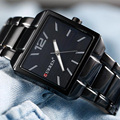 Curren relojes cuarzo de los hombres de primeras marcas de lujo reloj de pulsera militar Casual Hombres de Acero lleno de Relojes Masculinos Deporte de Los Hombres Reloj Clásico regalo