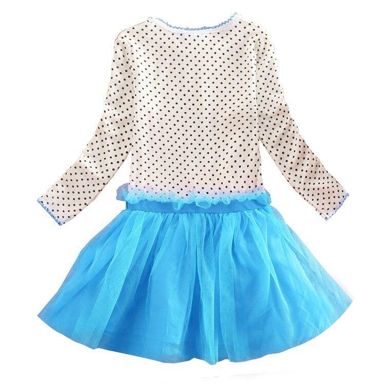 Sommar Baby Girl Dress Prinsessan Vestidos Feber 2 Anna Elsa - Barnkläder - Foto 2