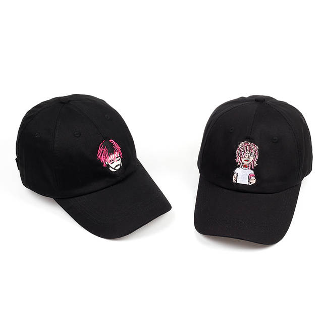 placeholder 2018 new style cartoon person embroidery baseball cap good  quality dad hat unisex adjustable cotton sports 8a2bc4fbc74