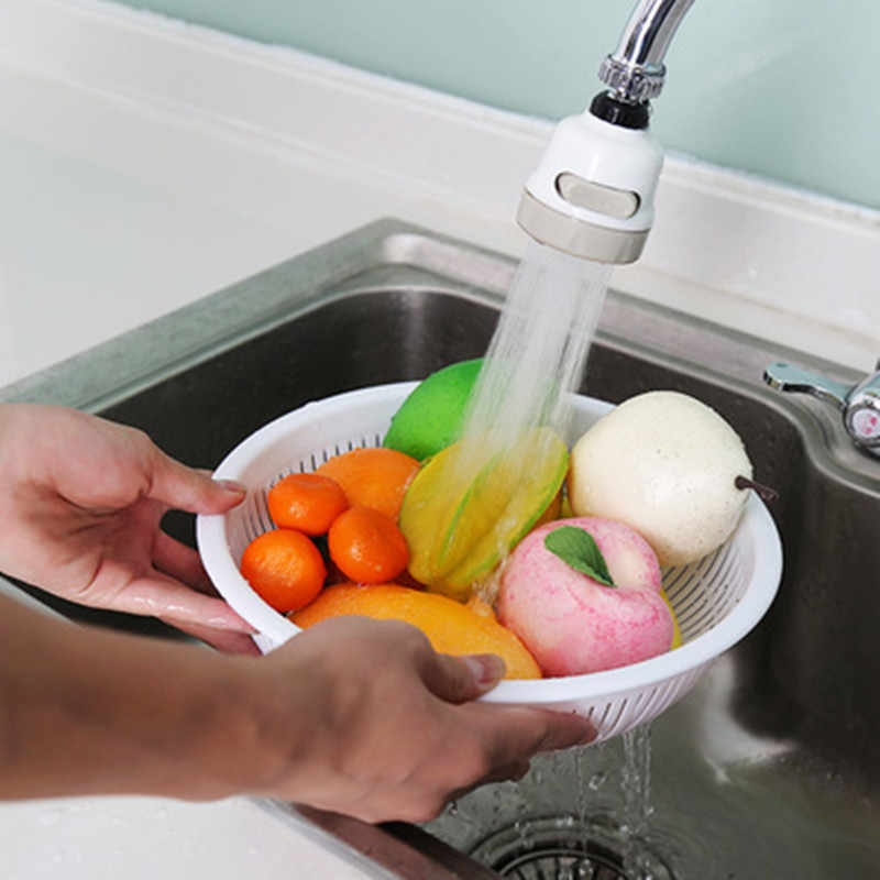 調整タップ台所の蛇口シャワー 360 回転節水シャワーヘッドキッチン蛇口濾過蛇口アクセサリー