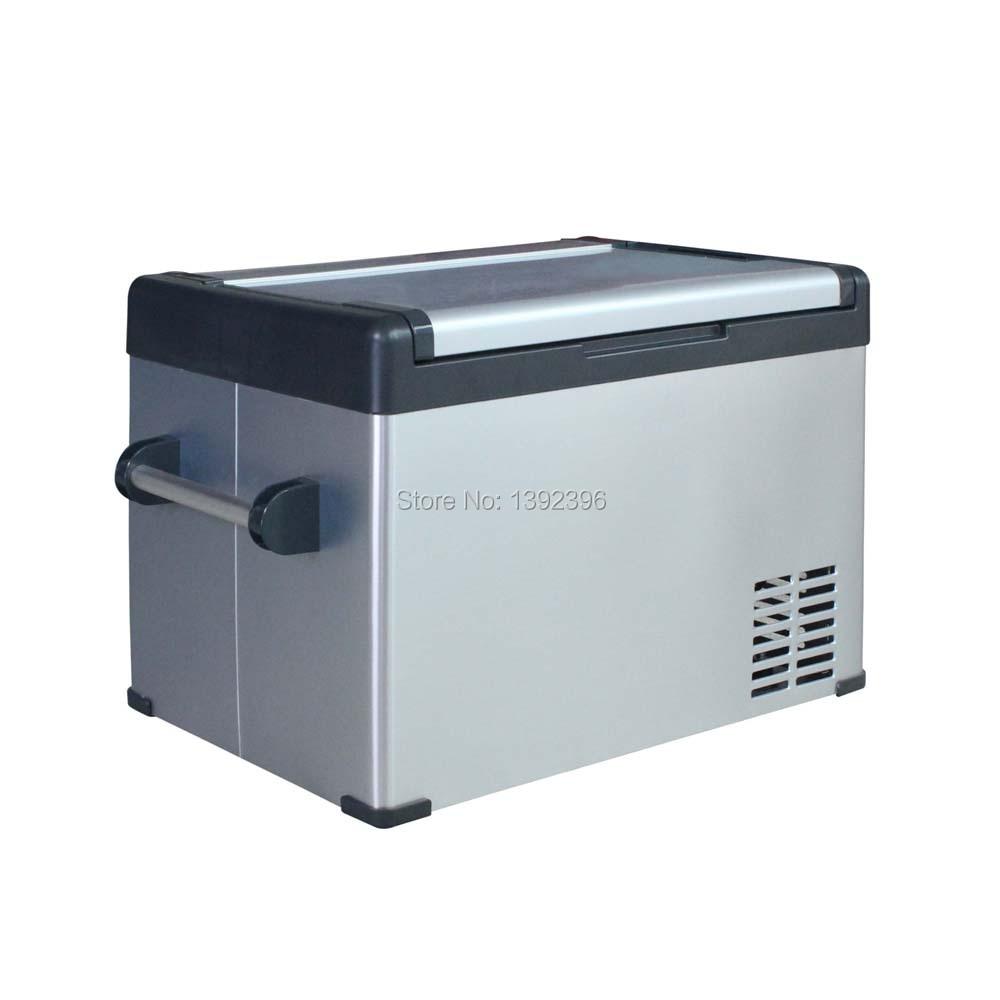 50L solar compressor fridge & DC 12V or 24V portable ice chamber
