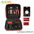 Original Coil Master DIY Kit V3 All-in-One kit for DIY Electronic Cigaretta with Japanese Organic Cotton