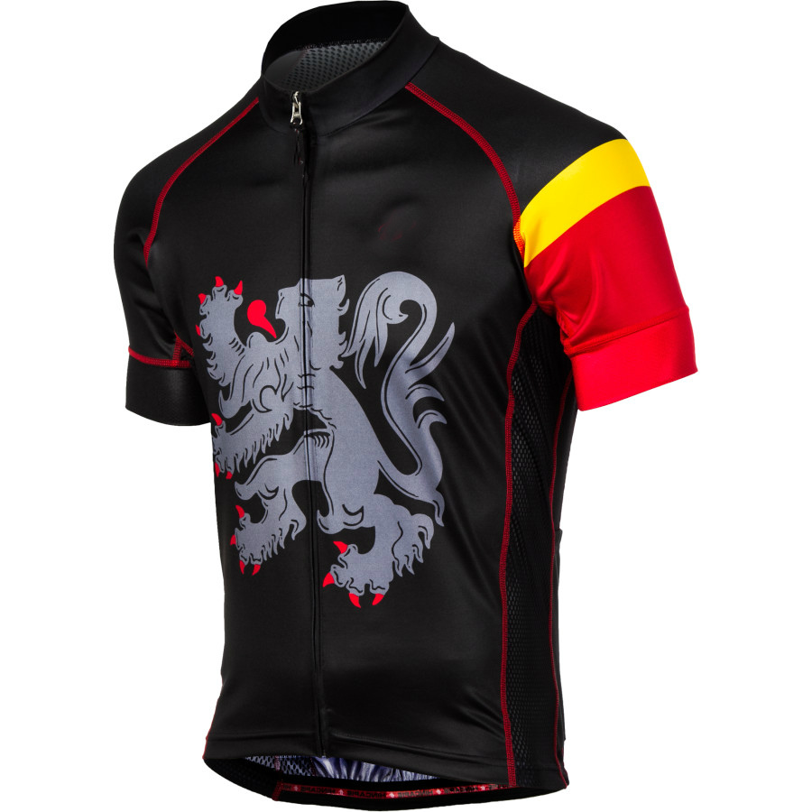 Belgien Flanders Fahrrad Trikot