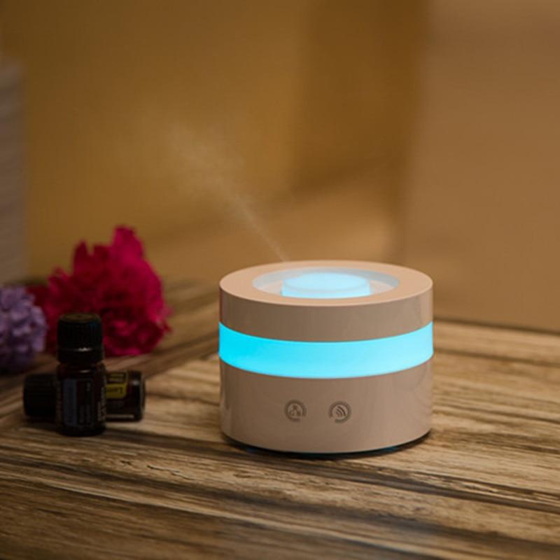 все цены на Usb 100ml Essential Oil Diffuser Led night Light Touch Keys Ultrasonic Cool Mist Humidifier Aroma for Home Office Study Yoga Spa онлайн