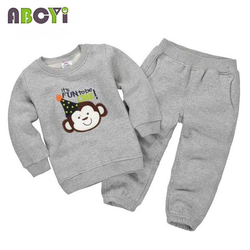 b0bd23cf41ea 8 Styles! Long Sleeve Cartoon Printing Autumn Winter Kids Clothes Sport  Suit 1-5 Years Girls Clothing Sets Baby Boy Tracksuit ~ Hot Sale June 2019