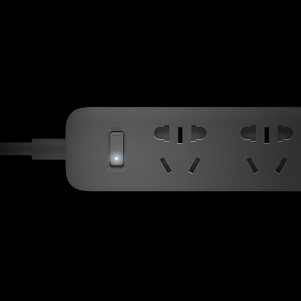 Xiaomi mi smart power strip with 5 power sockets plug with socket au standard socket pu for smart home free shipping