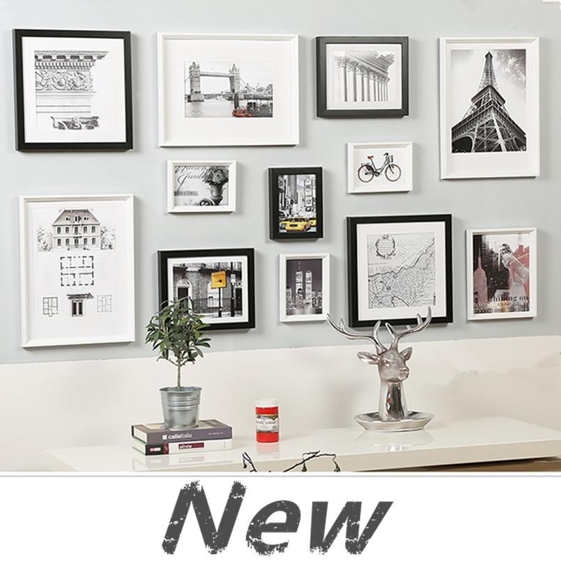 wall frames set popular white box frames buy cheap white box frames lots from - White Picture Frame Set