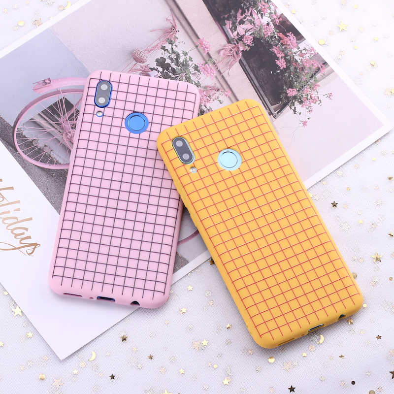 For Samsung S8 S9 S10 S10e Plus Note 8 Note 9 Polka Dot Striped Heart Burgundy Candy Silicone Phone Case Capa Fundas Coque