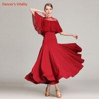 2018 New Ballroom Dance Dress Woman Modern Waltz Tango Dance Dresses Standard Ballroom Latin Dance Performance Costumes