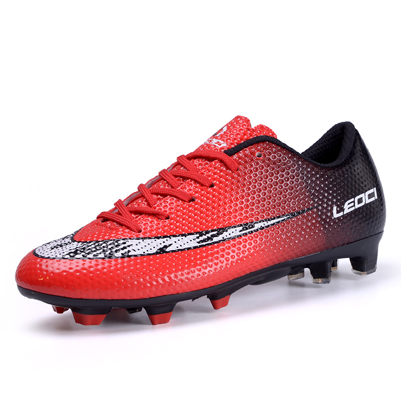 26841872802 LEOCI 2016 botas de futbol con tobillera Men Soccer Shoes Outdoor Training  Men Football Shoes Spider Series Men Soccer Cleats. Anniversary Sale