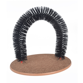 Null Arrival Arch Cats Toy Tunel Scratcher Pet Supplies For Cat Interactive Catmint jouet chat katten speelgoed dog Door file 1