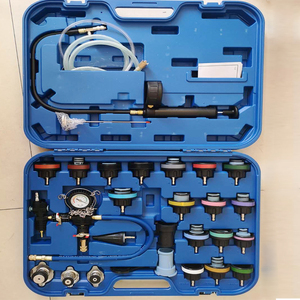 Image 3 - 28pcs/set car tank leak tester radiator pressure tester vacuum cooling system test  leak detector tool