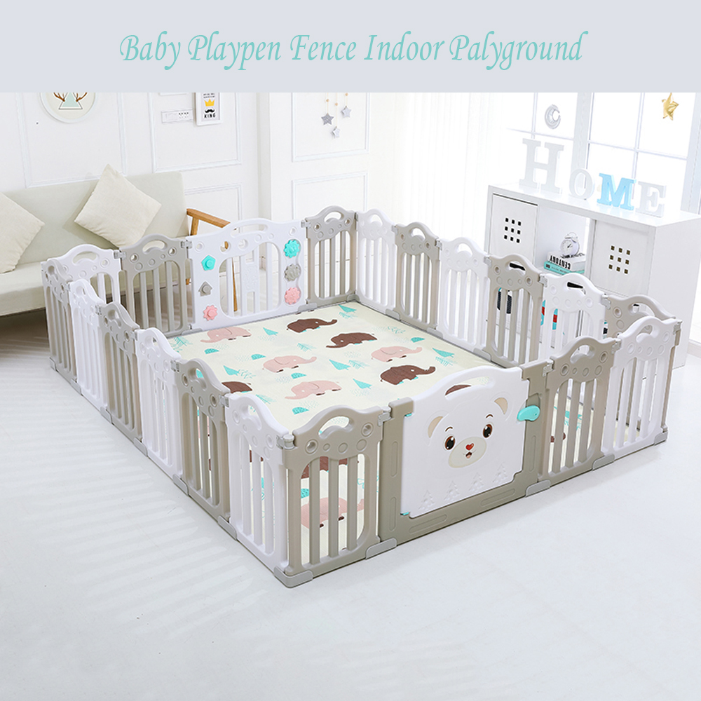 Baby Playpen How Us 58 48 15 Off Baby Playpen Fence Indoor Palyground Park Kids Safe Guardrail Baby Game Crawling Fence Baby Play Yard 18 Pieces Set In Baby Playpens