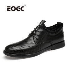 Natural Cow Leather Men Shoes Oxfords Handmade Business Flats Pointed Toe Wedding Dress