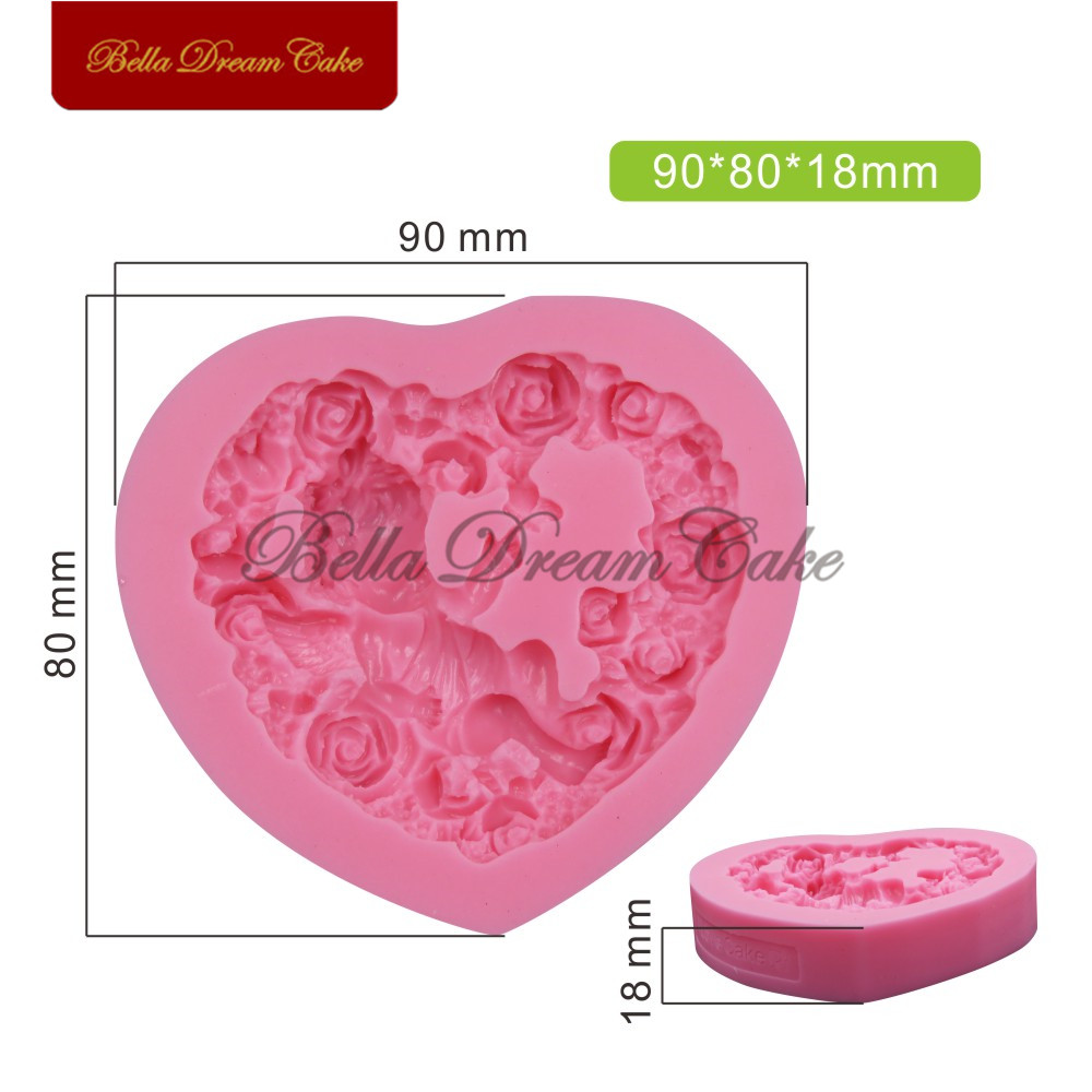 Flower Mold Craft Art Silicone 3d Soap Mold Making Craft Molds Diy Handmade Candle Mold Fondant Cake Mould Clay Mould Soap Forms Soap Making