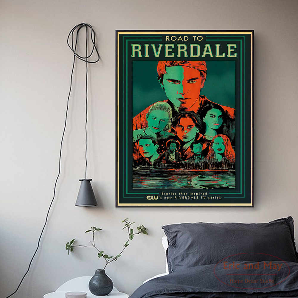 TV Play Riverdale Full Characters Posters And Prints Canvas Art Decorative Wall Pictures For Living Room Home Decor  Painting