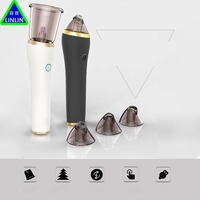 LINLIN Massage Pore Vacuum Cleaner Mole Blackhead Remover Acne Diamond Head Grinding Skin Care Contraction Pores