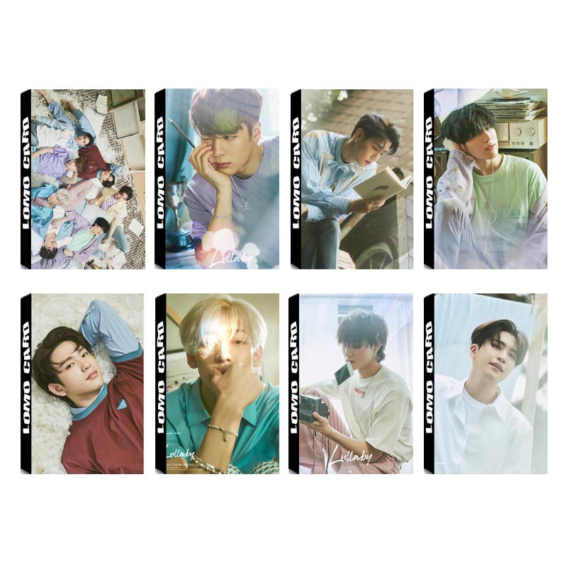 Objective Kpop Got7 Lullaby Jinyoung Jackson Jr Album Lomo Cards K-pop New Fashion Self Made Paper Photo Card Photocard Lk599 We Have Won Praise From Customers Jewelry & Accessories Jewelry Findings & Components