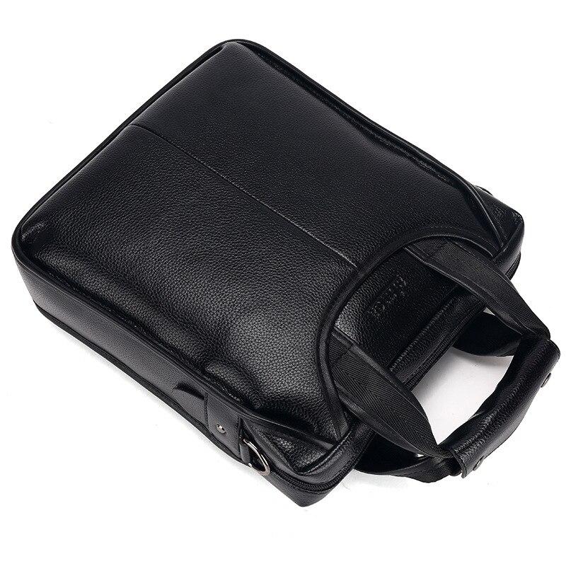 Brand PU Leather Men Business Bags Fashion Male Messenger Bags Mens Small Briefcase Man Casual Crossbody Shoulder Handbag
