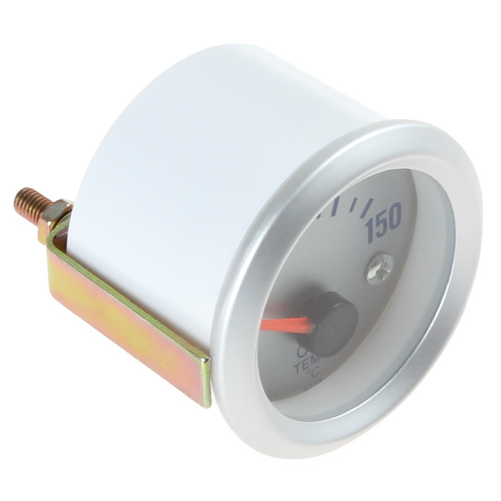 "Hot Sale! New arrival!   50~150 Celsius Degree  2"" 52mm Oil Temperature Meter Gauge with Sensor for Auto Car"