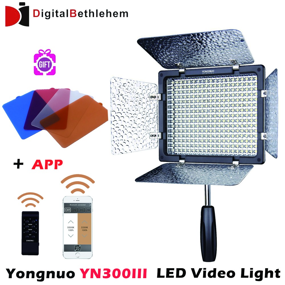 Yongnuo YN300 III YN 300 lIl 5500K CRI95+ Pro LED Video Light with Remote ControlSupport AC Power Adapter u0026 APP Remote-in Photographic Lighting from ...  sc 1 st  AliExpress.com & Yongnuo YN300 III YN 300 lIl 5500K CRI95+ Pro LED Video Light with ... azcodes.com