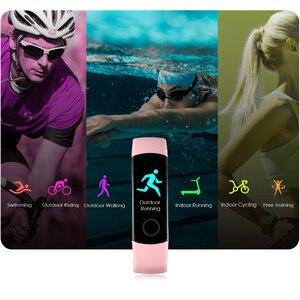 Image 4 - Pulsera inteligente Honor Band 4, pulsera inteligente deportiva resistente al agua, dispositivos de seguimiento de actividad en tiempo Real (estándar)