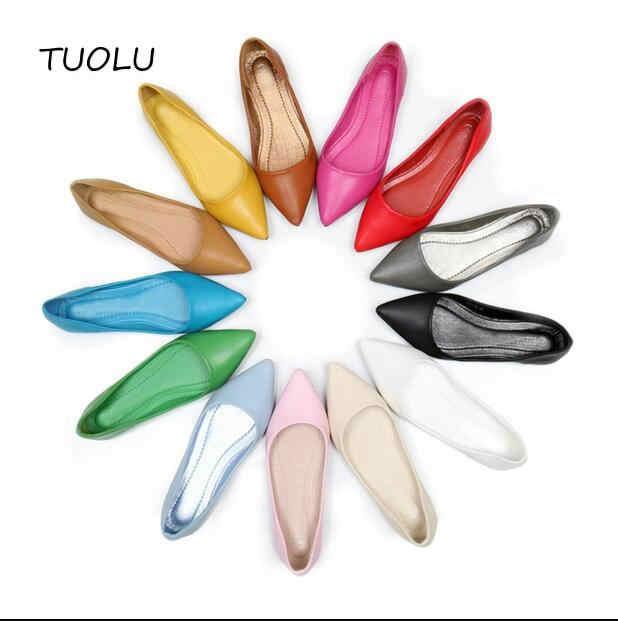 2017 delle donne sandali scarpe Donna Cuoio Genuino Scarpe Basse Scarpe di Moda cucito A mano Mocassini In Pelle Femminile foro pattini del foro Delle Donne appartamenti