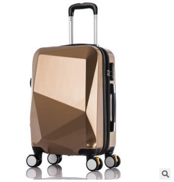"""20นิ้วรถเข็นกระเป๋าเดินทางกระเป๋าเดินทาง24 """"PCรถเข็นกระเป๋าบนล้อล้อกรณีเดินทางกระเป๋าเดินทางกลิ้งสัมภาระกระเป๋าเดินทาง-ใน กระเป๋าเดินทางแบบลาก จาก สัมภาระและกระเป๋า บน   3"""